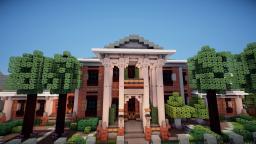 Decatur, A Georgian Mansion Minecraft Map & Project