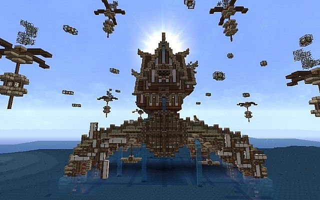 how to build an arch in minecraft