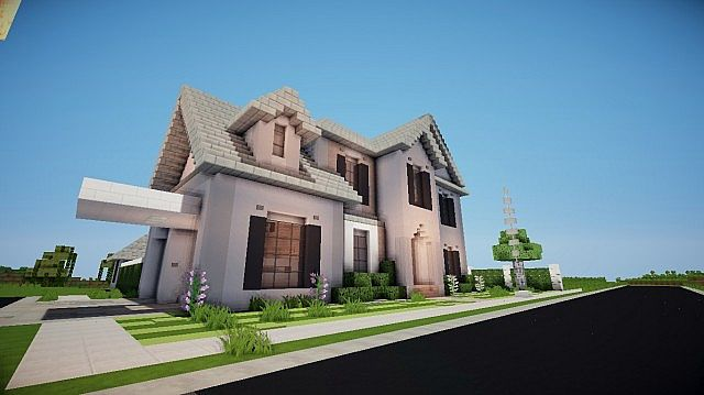 Large Suburban Home TBA Minecraft Project