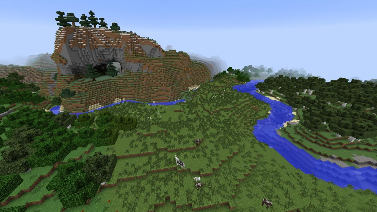 Minecraft Seeds 1 7 4 Village Roofed Forest And Lots