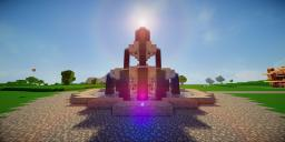 Modern Eco Village   Fountain 1 Minecraft Map & Project