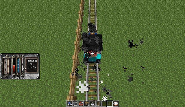 Legend Of Zelda Spirit Tracks Spirit train in Minecraft ...