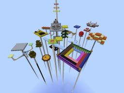 Crazy Plates: A Spleef Game! Minecraft Map & Project