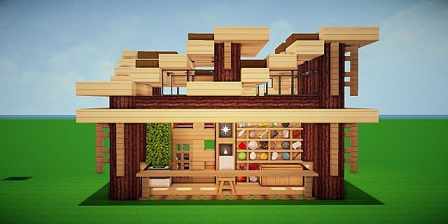 Modern eco village store 1 item store minecraft project for Craft com online shopping