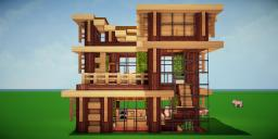 Modern Eco Village | Home 2 Minecraft Map & Project