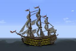 HMS Victory! Minecraft Map & Project