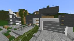 *TREBLE* ~Modern Home Minecraft Map & Project