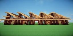 Modern Eco Village | Horse Stables 1 Minecraft Map & Project