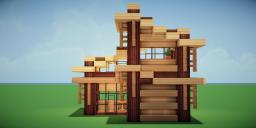 Modern Eco Village | Home 4 Minecraft Map & Project