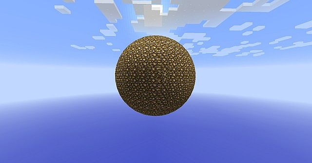 Sphere And Circle in Vanilla