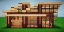 Modern Eco Village | Home 7 Minecraft Map & Project
