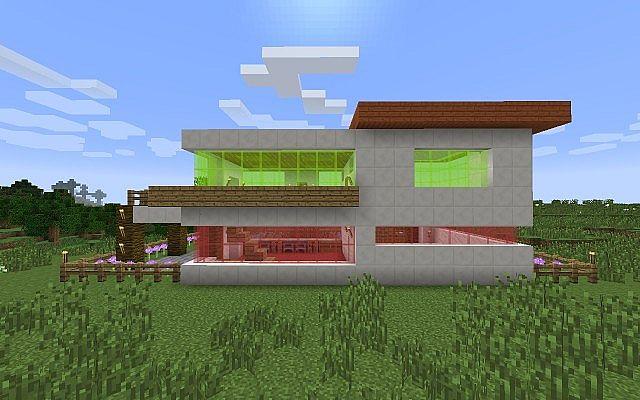 Quartz Modern House Minecraft Project