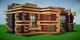 Modern Eco Village | Library 1 Minecraft Map & Project