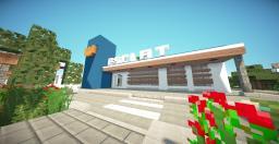 Esclat Modern Supermarket Minecraft Map & Project