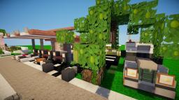 Small-Modern-Gas Station Minecraft