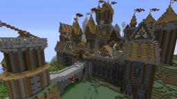 Huge Medieval Castle (Thales Hold) Minecraft