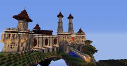 Floating Castle and Islands Minecraft Map & Project