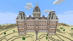 Marfa Courthouse (Marfa, Texas) Minecraft Map & Project