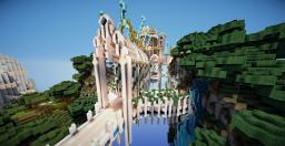 Floating  SPAWN Minecraft Map & Project