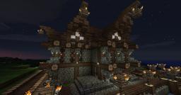 Medieval port tavern Minecraft Map & Project