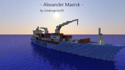 Alexander Maersk 1:1 Container Ship Minecraft