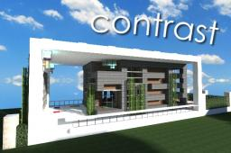~ Contrast ~ A Minimal Modern Home ~ Minecraft Map & Project