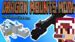 Minecraft: DRAGON MOUNTS MOD Review (Ice, Nether, Fire, Water, Ghost, Ether, Ender) - MyDiamondSkeleton! Minecraft Blog