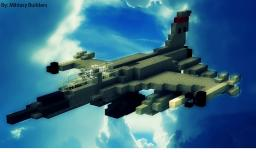 F-16 Super Falcon - Fighter Jet Minecraft Map & Project