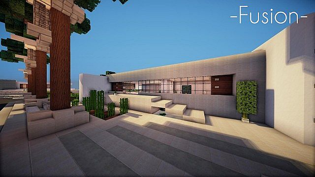 Fusion- A Modern Cliffside House Minecraft Project on minecraft modern house render, minecraft cliff side house, minecraft modern lake house, minecraft modern mansion house, minecraft modern house on a cliff,
