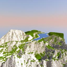 Summer Mountains-- Minecraft Map & Project