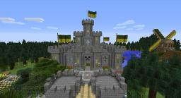 Grimlock Castle - Medieval Build Minecraft Map & Project