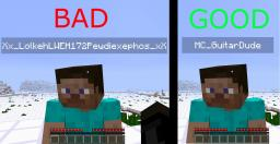 How to think of a good username Minecraft Blog