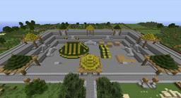 Waukeen's Promenade - Sunken Medieval Market Minecraft Map & Project