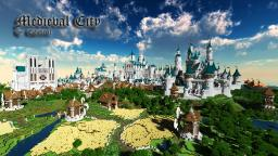 Medieval City - Cathedral, Palace, Castle Minecraft Map & Project