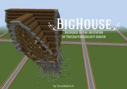 Freestyle Big House for The Crafters Society ! Minecraft Map & Project