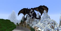 Minecraft Dragon in 3D