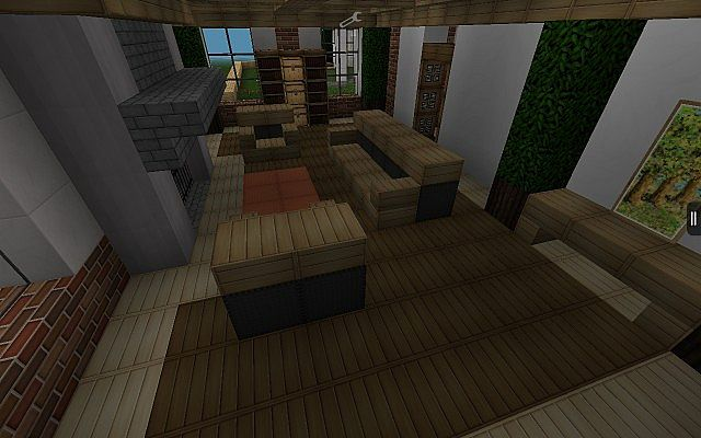 Traditional american home updated minecraft project for Traditional american home