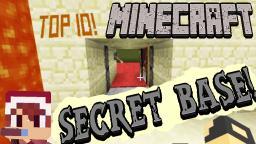 Top 10 Secret Bases in Minecraft 2014 (Hidden Rooms & Secret Doors) No Mods! Minecraft Blog