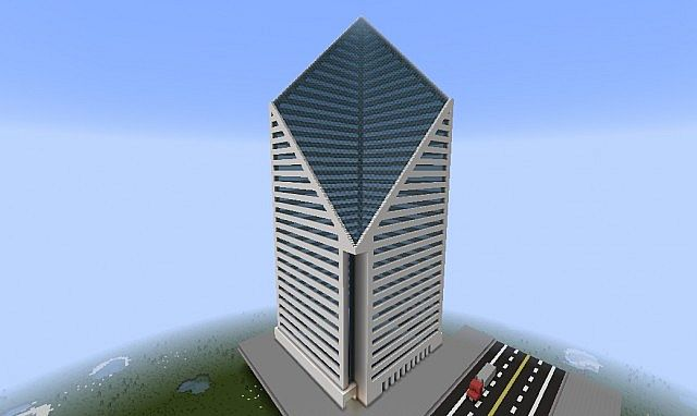 Diamond Building Minecraft Project