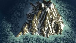 Super realistic mountain by poohcraft _!--!_ Minecraft
