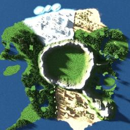 Alfhiem Online map (From Sword art online) [Being Re-Sized] Minecraft Map & Project