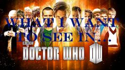 What I want to see in... Doctor Who Minecraft Blog