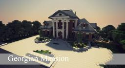 Georgian Mansion [Ft.  Tommys & TheEvilEnderman] Minecraft