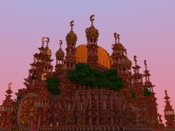 Red Mosque Minecraft Map & Project