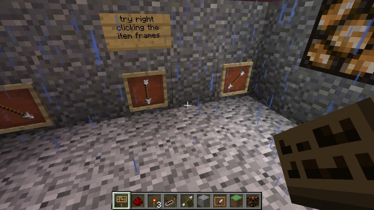 working item frame combination lock! Minecraft Project