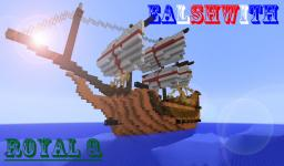 Ealshwith sail boat (First ship ive ever made)(POP REEL,thanks!) Minecraft Map & Project
