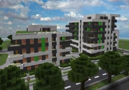Horizon Apartments Minecraft Map & Project