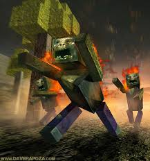 Zombie- First Person View Minecraft