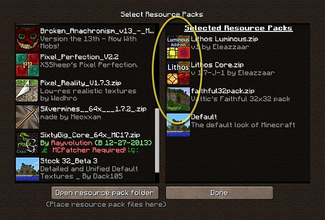 how to add texture packs to minecraft mac