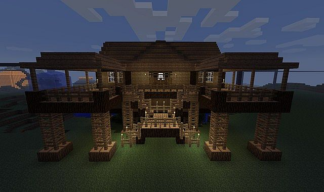 45 cool things to build in minecraft minecraft blog for House build ideas